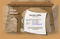 Kovács Attila weboldala